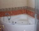 Fürdőszoba sarok masszázs fürdőkáddal