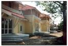 Tatai ötlakásos sorház építése